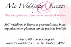 MC Weddings & Events