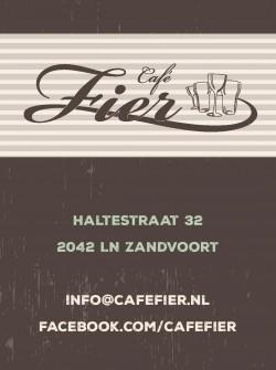 Cafe Fier in Zandvoort