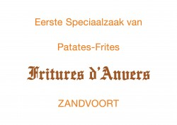 Frites d'anvers