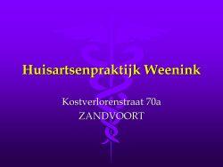Huisarts Weenink