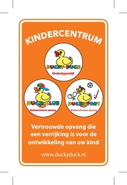 Kindercentrum Ducky Duck